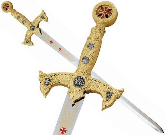 épées des templiers